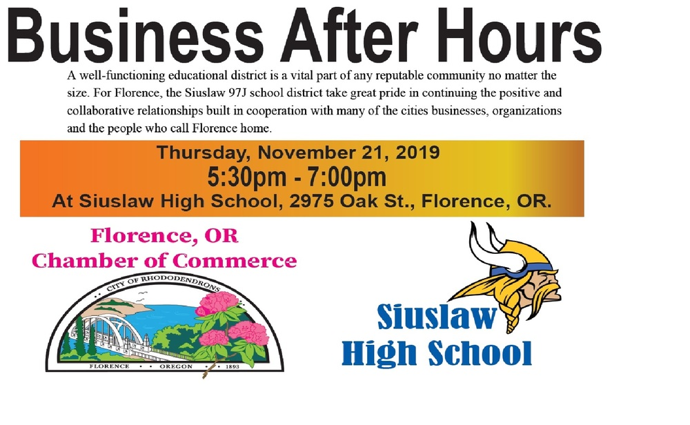 Business After Hours @ Siuslaw High School