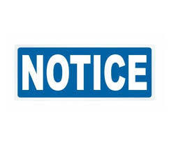 Pesticide Application Notice