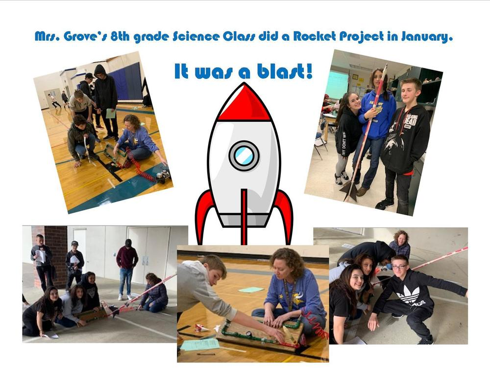 8th Grade Science Rocket Project