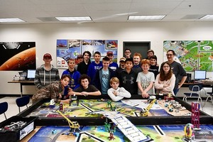 Siuslaw Robotics Program goes to Competition
