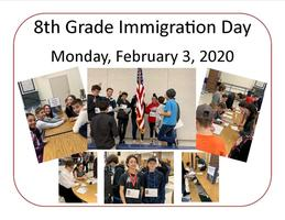 8th Grade Immigration Day