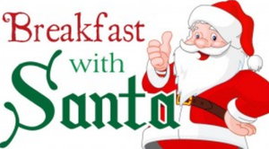 Breakfast with Santa sponsored by PTA