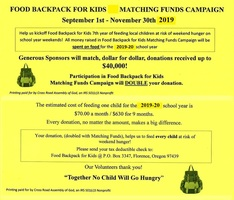 2nd Annual Donation Campaign