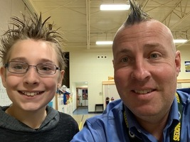 Red Ribbon Week - CRAZY HAIR Day