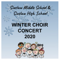 Winter Choir Concert