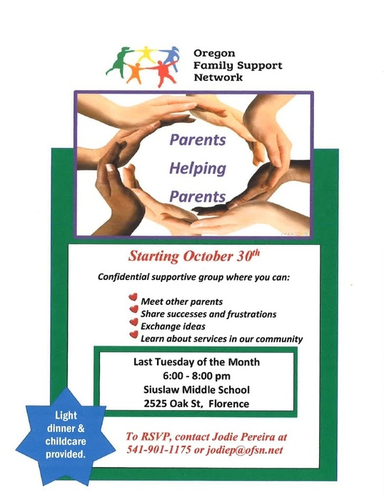 Oregon Family Support Network Flyer