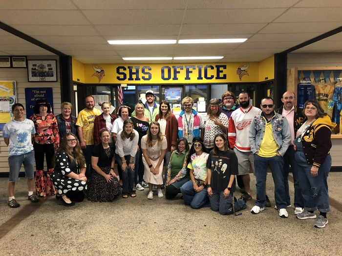 SHS Staff Decades Day