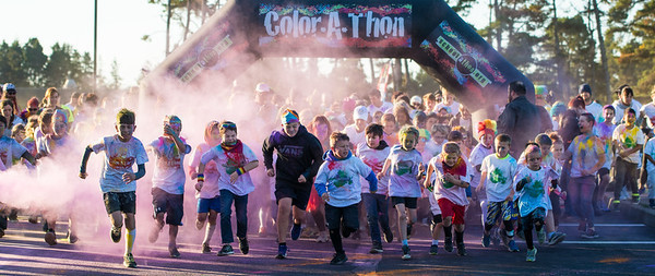 Color-A-Thon raised OVER $17,200 to spend for our schools!